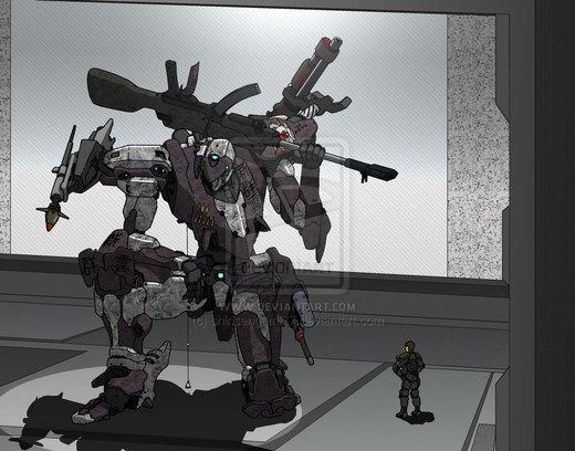 Sniper Mech por shinsengumi77