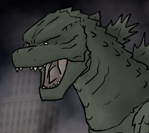 Godzilla's hankering for some fish tacos, but he'll fucking pulverize you if you put salmon in them.