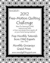 FREE MOTION QUILTING CHALLANGE 2012