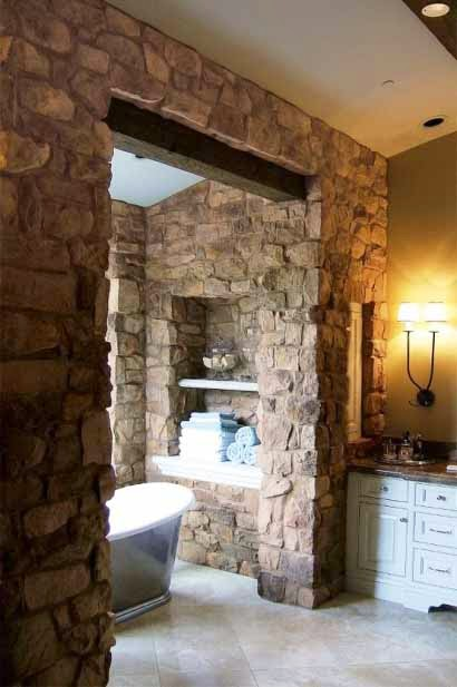 The design-bathroom-with-natural-stone-Stone-Elegant-Bathroom-Design-Ideas