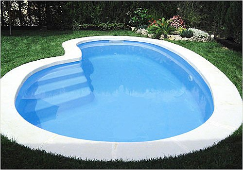 inground polyester pool 121379 Small Inground Pool Designs