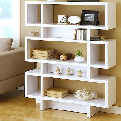 25 modernos estantes para organizar tu casa decorando mejor for Estantes modernos