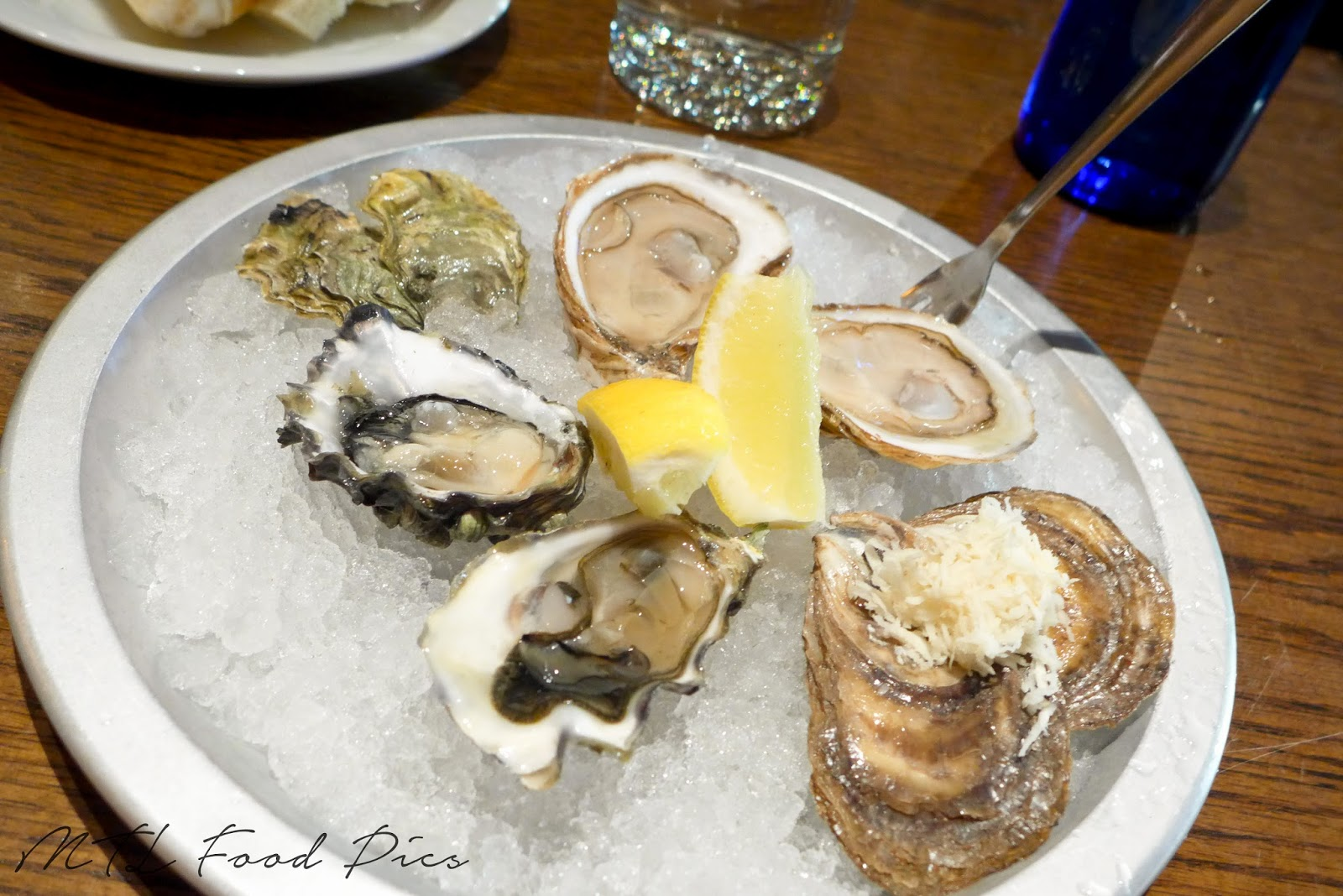 Lambertini and Saint Simon Oysters - Seafood restaurant