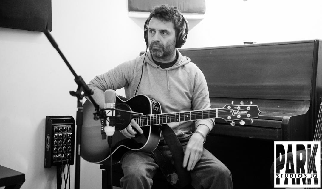 Birmingham recording studio Park Studios JQ | Tracking guitars