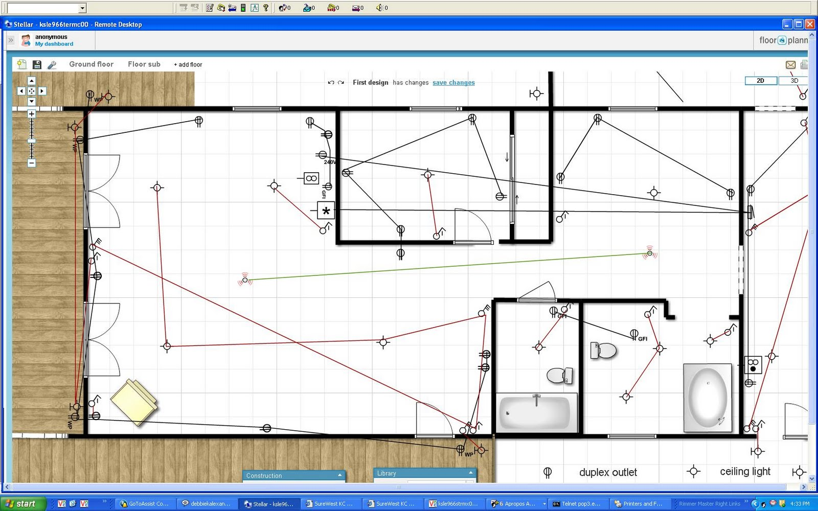 House renovation project plan - Electrical Layout Plan Drafts Lake House Renovation Project Electrical Layout Plan Drafts