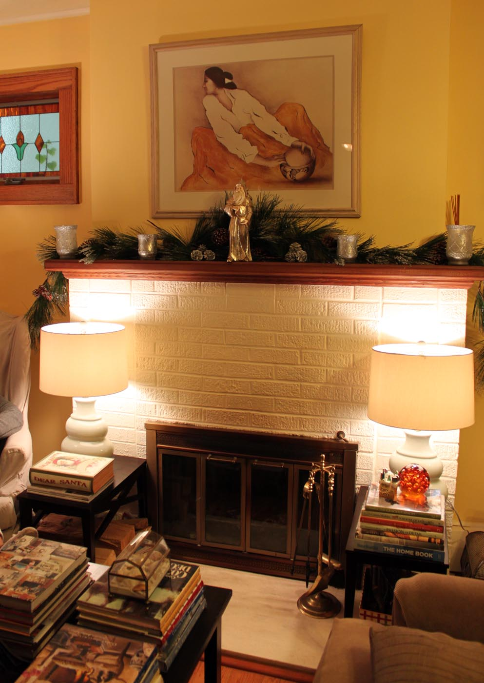 My great challenge christmas house tour 2012 for S carey living room tour