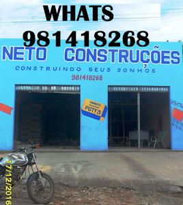 NETO CONSTRUÇÕES - CONSTRUINDO SEUS SONHOS