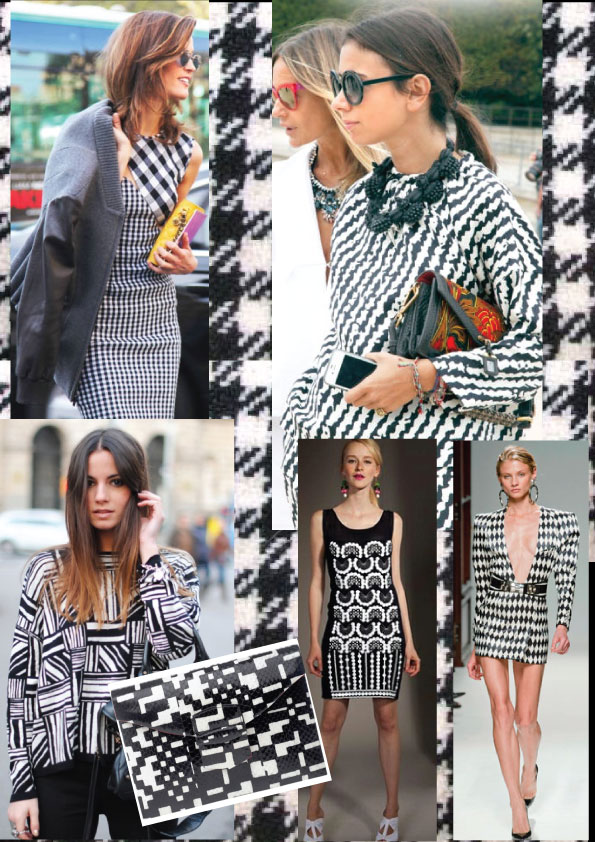 black and white fashion ying and yang trend