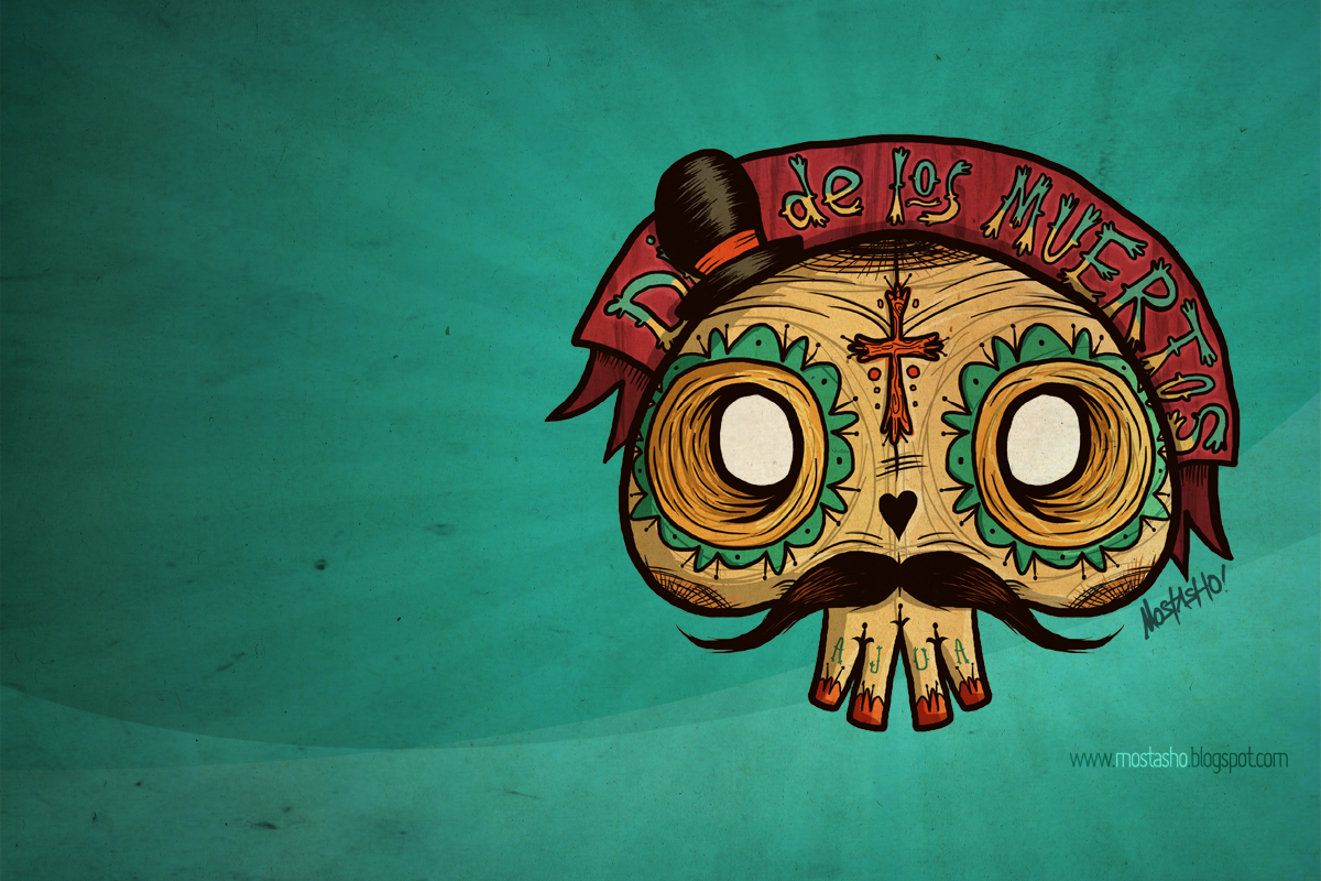 Calavera mexicana wallpaper - Imagui