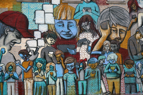 romig disconnected mural