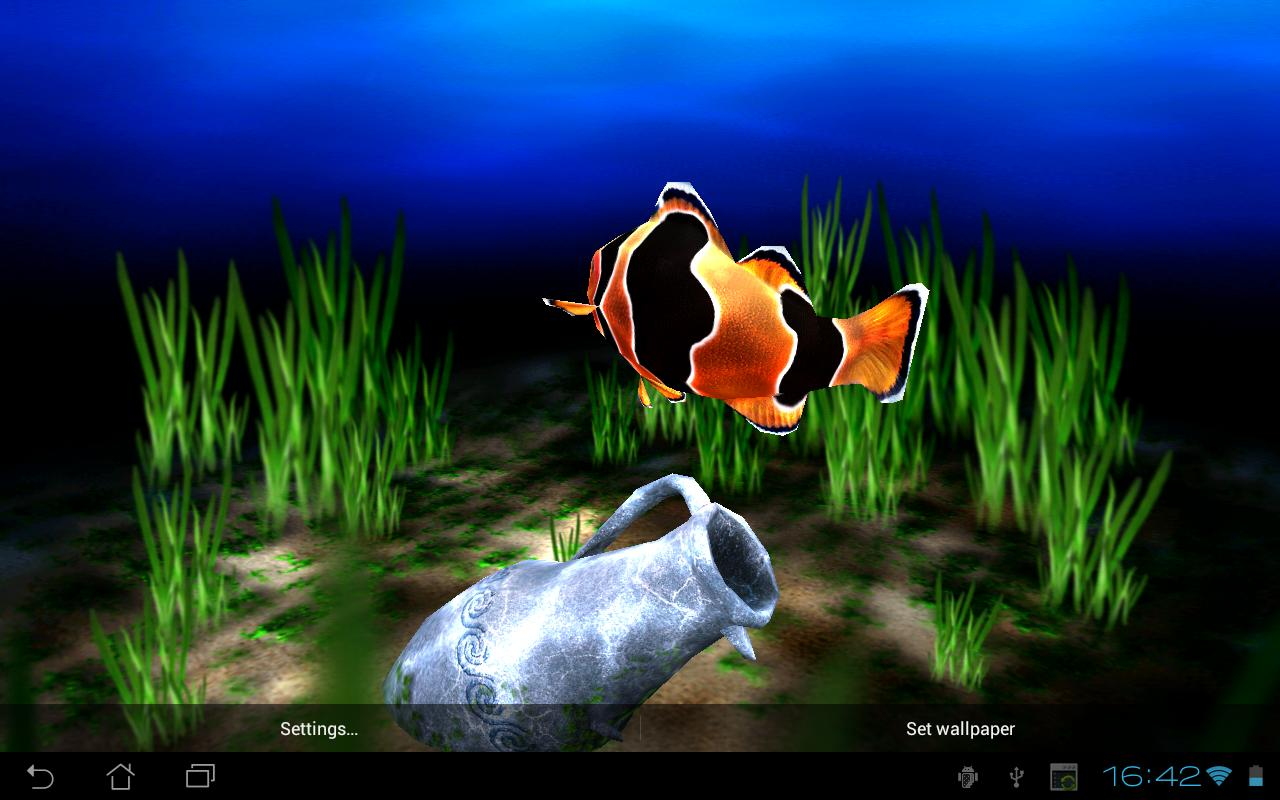Android games amp apps my 3d fish 2 v2 2