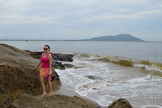 Blogueira, melissa, blog da jana, joinville, férias, praia, enseada, são francisco do sul, cea,  Look da Jana