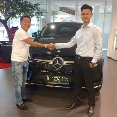 Delivery GLE 400 AMG Coupe a/n Bapak Chandra