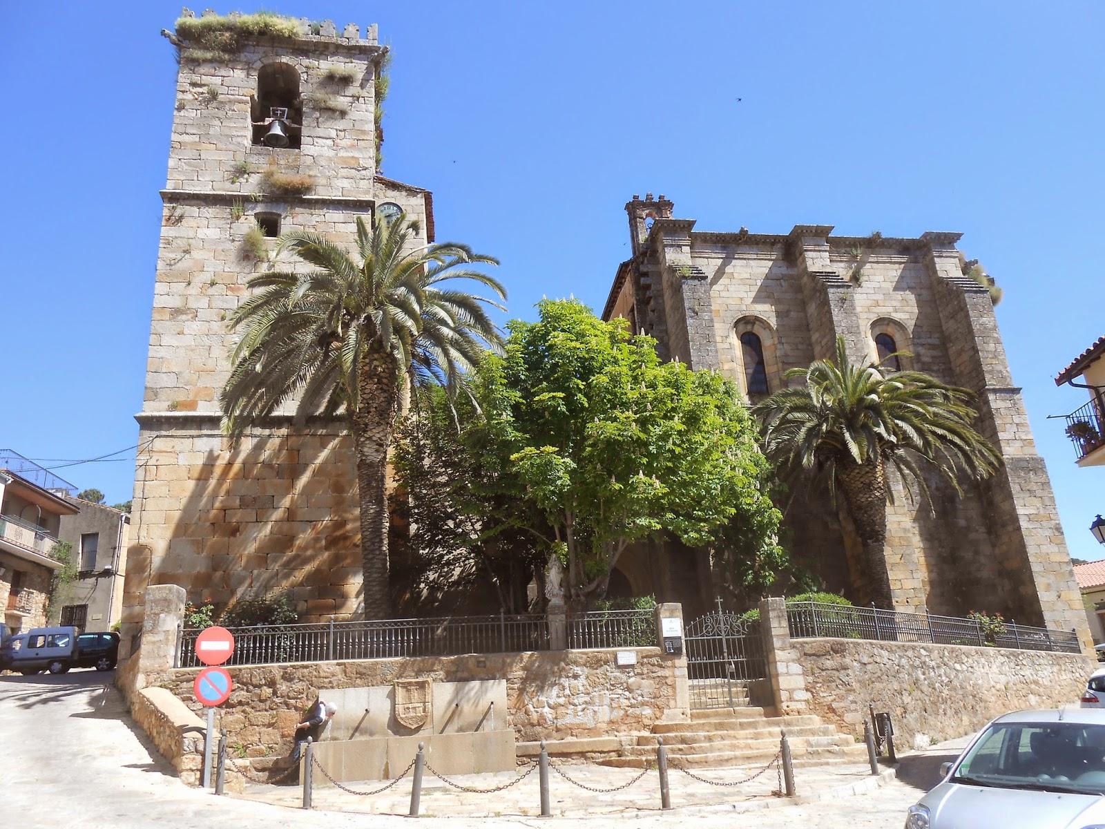 Iglesia San Martín de Trevejo