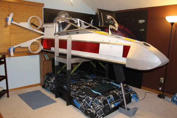 Diy Star Wars X Wing Bed Damn Cool Pictures