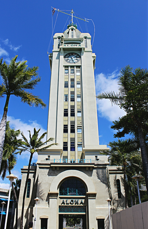 aloha tower honolulu hawaii