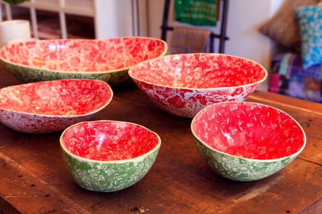 SA+D CERAMICS: Watermelon Bowls