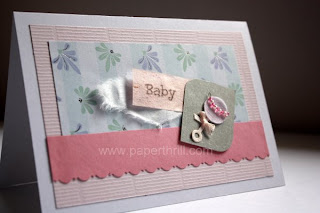 Handmade Baby cards for newborn