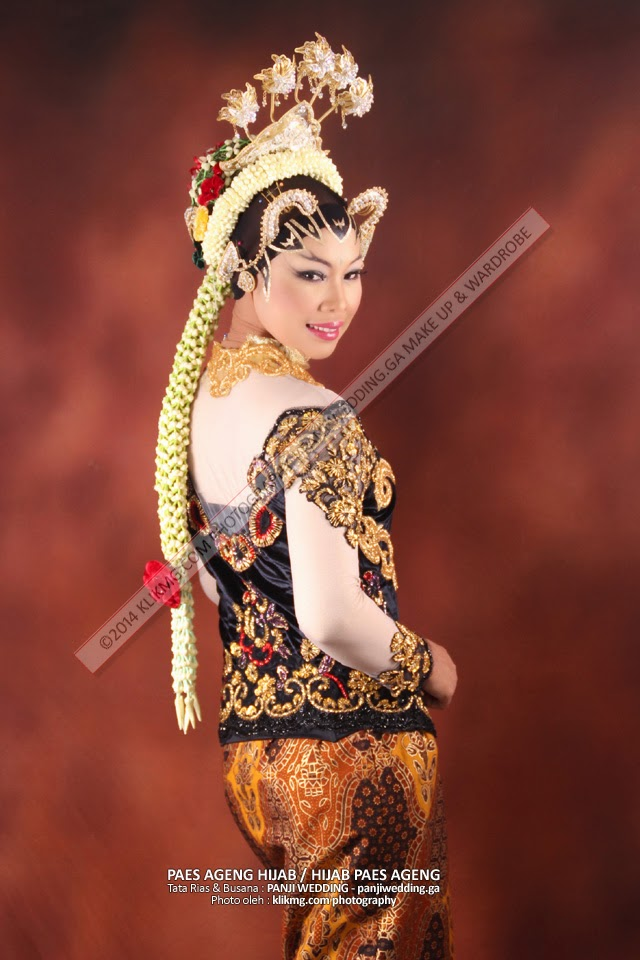 Paes Ageng Hijab / Hijab Paes Ageng - Tata Rias & Busana oleh : Panji Rias Pengantin Purwokerto