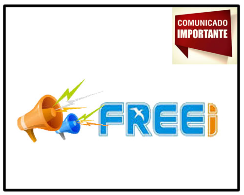 Comunicado Freei sobre status de sistema