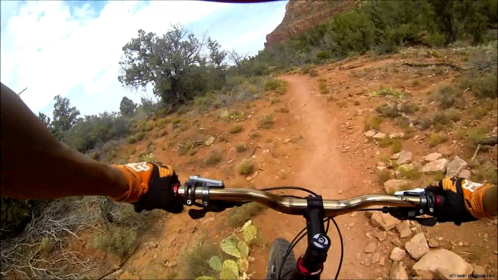 Sedona Mountain biking   YouTube