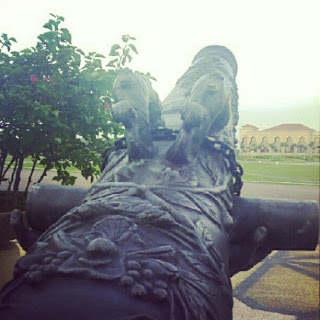 Meriam Di Kota Iskandar, Nusajaya