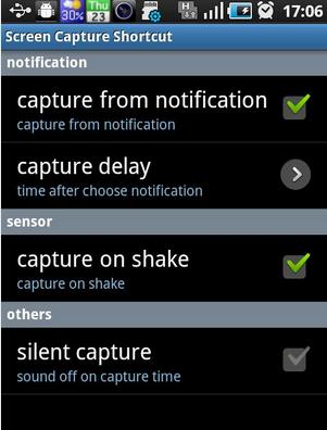 Screen Capture Shortcut Free - Aplikasi Screenshot Android