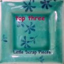 I made Top 3 at Little Scrap Pieces