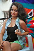 New Actress Jhansi Hot Stills in Shorts-thumbnail-7