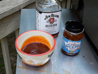 Use Bourbon in your BBQ sauce when grilling