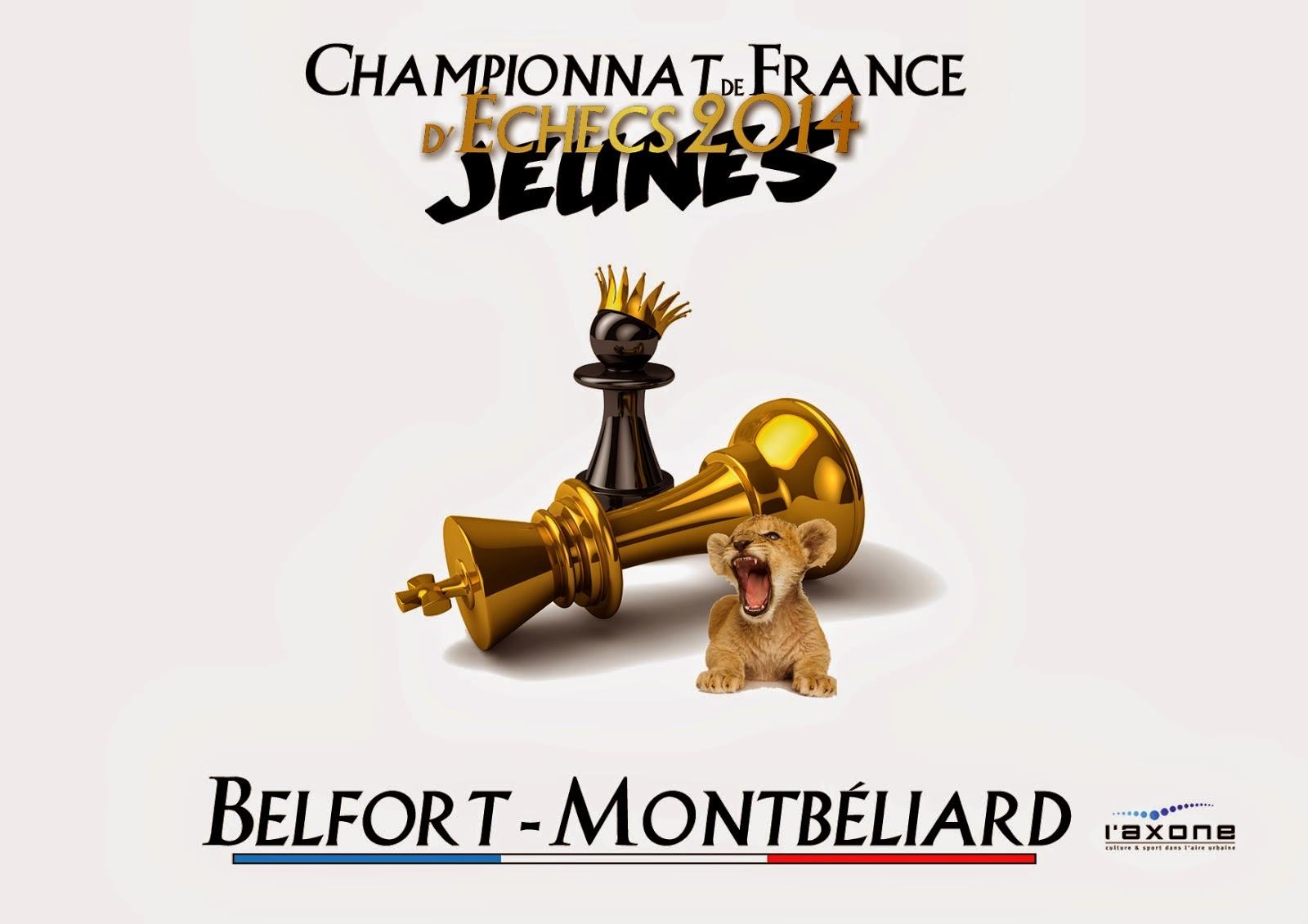 Championnats de France d'échecs Jeunes 2014