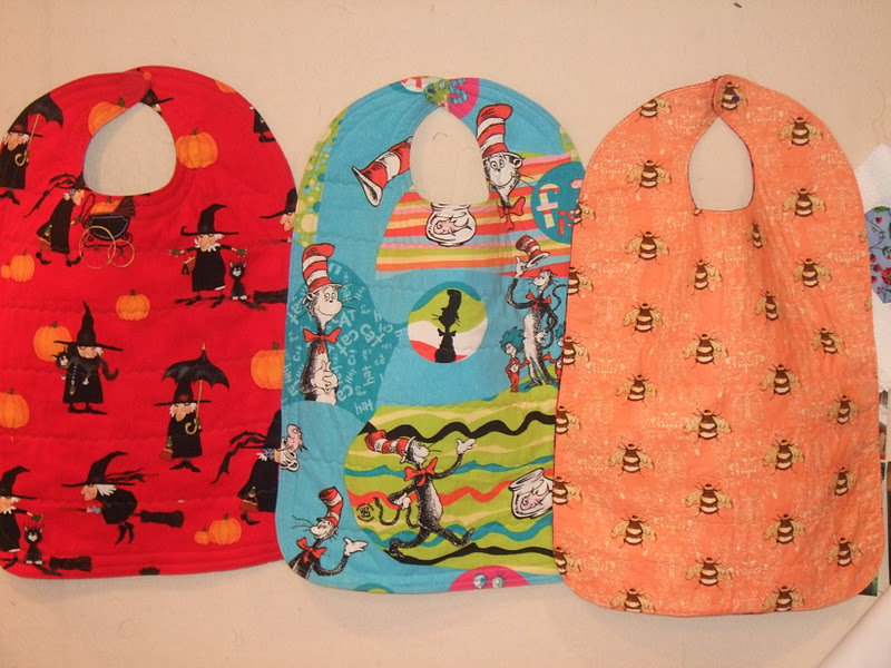 O'Quilts Adult Bibs For My Mother Impressive Adult Bib Patterns