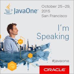 JavaOne 2015 Speaker