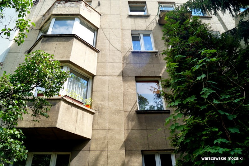 Warszawa ulica NKWD więzienie willa