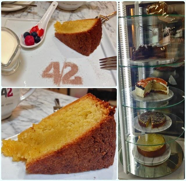 Tea 4 2, Manchester - Cake