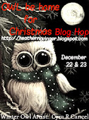 Owl Be Home For Christmas Blog Hop