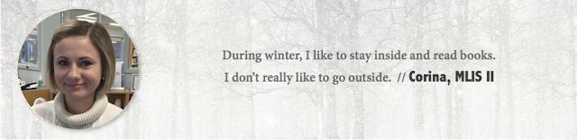 Corina, UAlberta - Winter