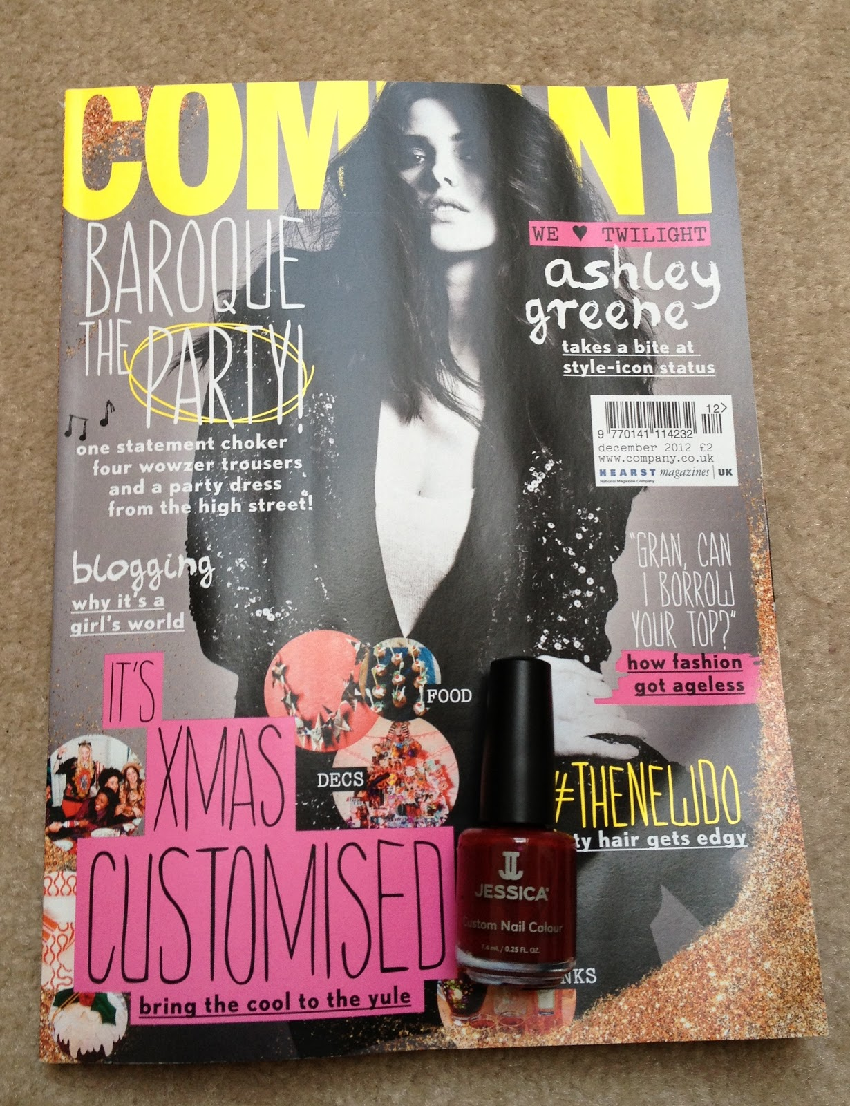 I Heart Nail Art: Company Magazine UK - Free Jessica Nail Polish