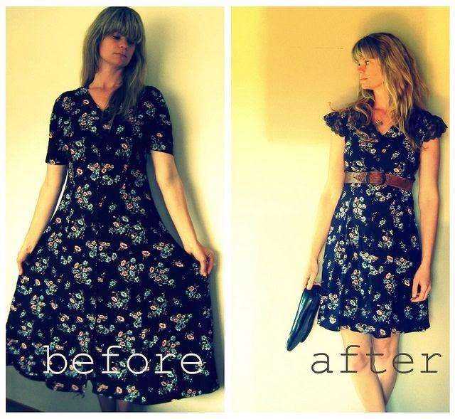 Как из платья сделать модное