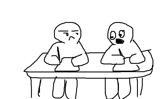 Cara Keren Nyontek Di Saat Ujian