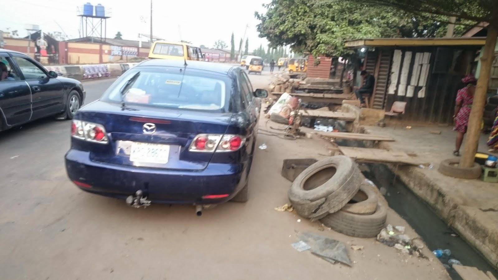 Lagos Vulcanizer / Foganiza tyre repair shop