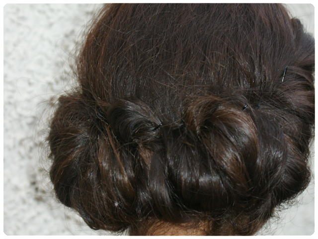 grecian hairstyle, chic updo