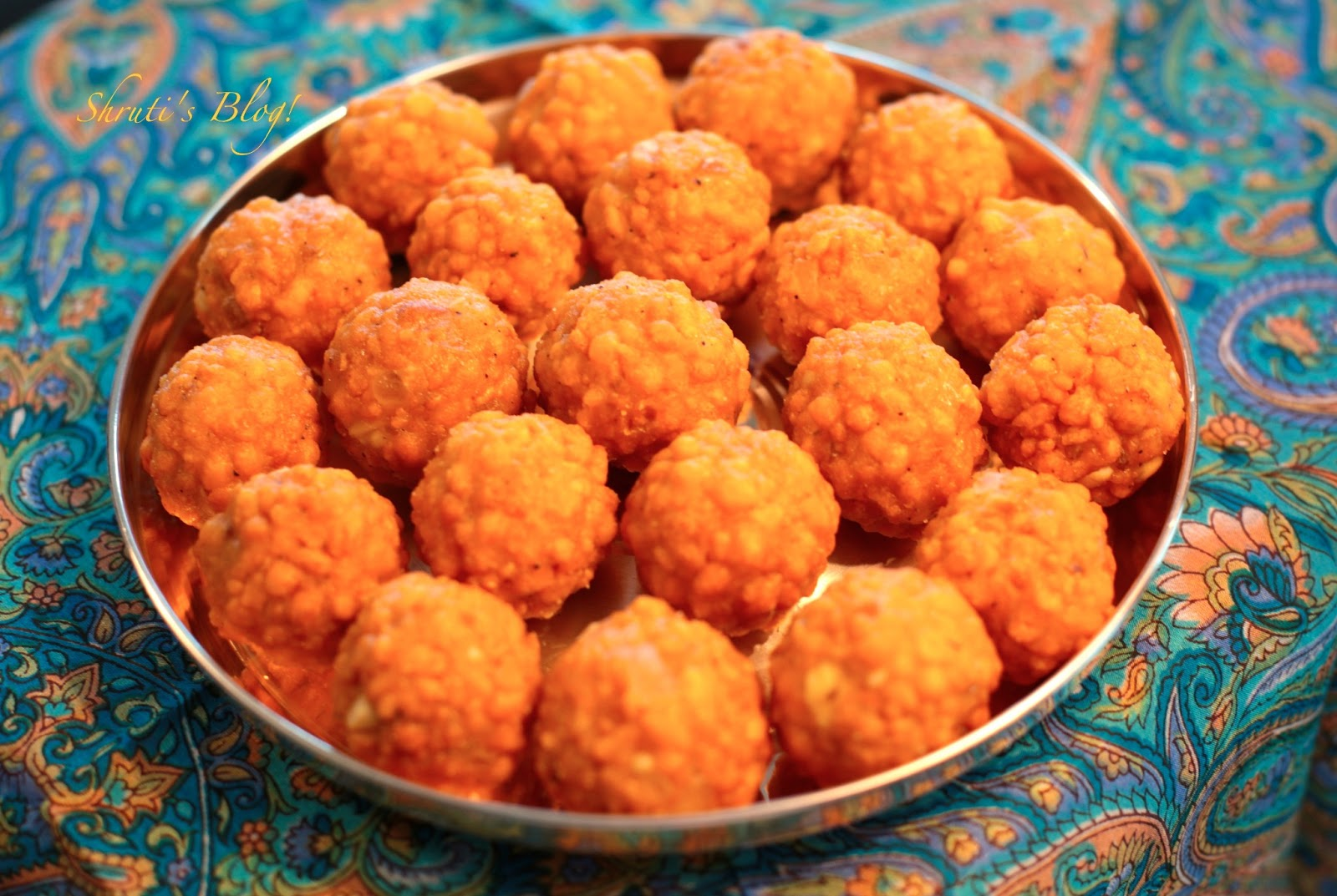 Shruti's Blog: The laddoo of our lives!