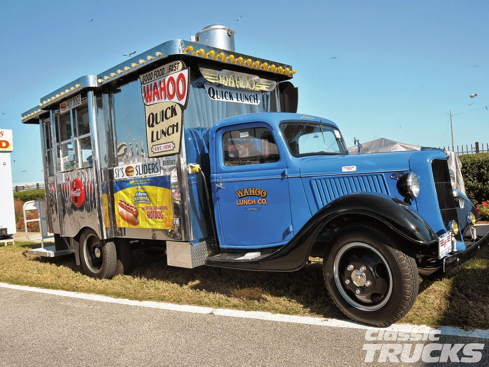 45 food trucks camiones de comida originales y for Food truck blueprint