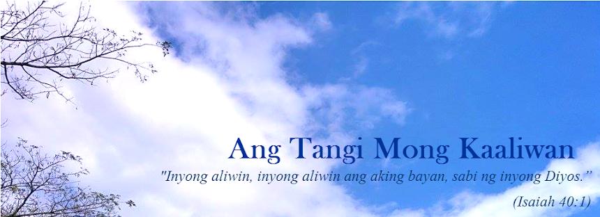 Ang Tangi Mong Kaaliwan