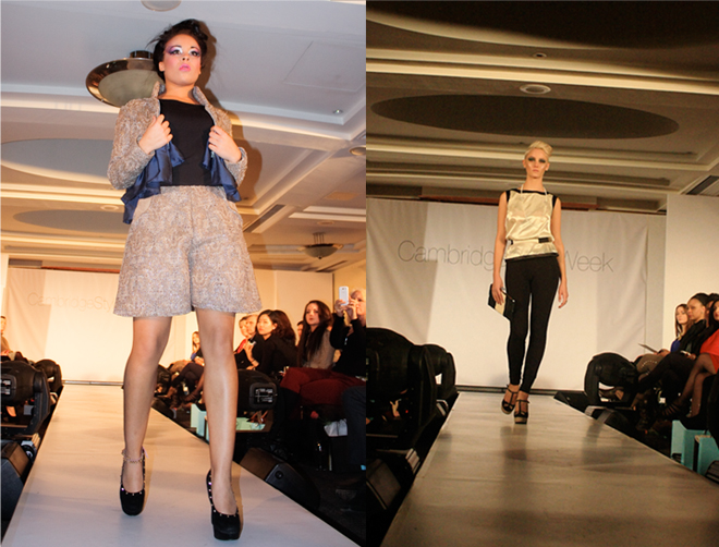 Cambridge Style Week student designs jacquard monochrome