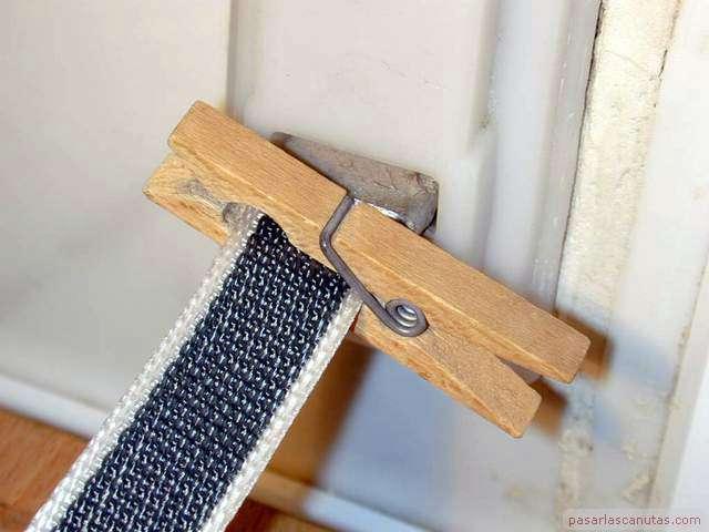 Reparaciones caseras cambiar correa o cinta a persiana manual - Cinta para persianas ...