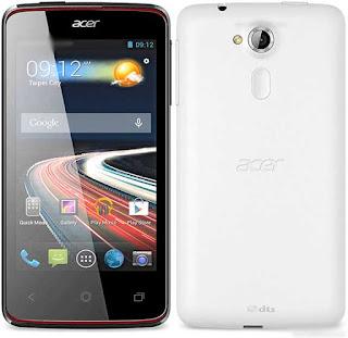 Spesifikasi dan Harga Acer Z160 Liquid Z4 Duo
