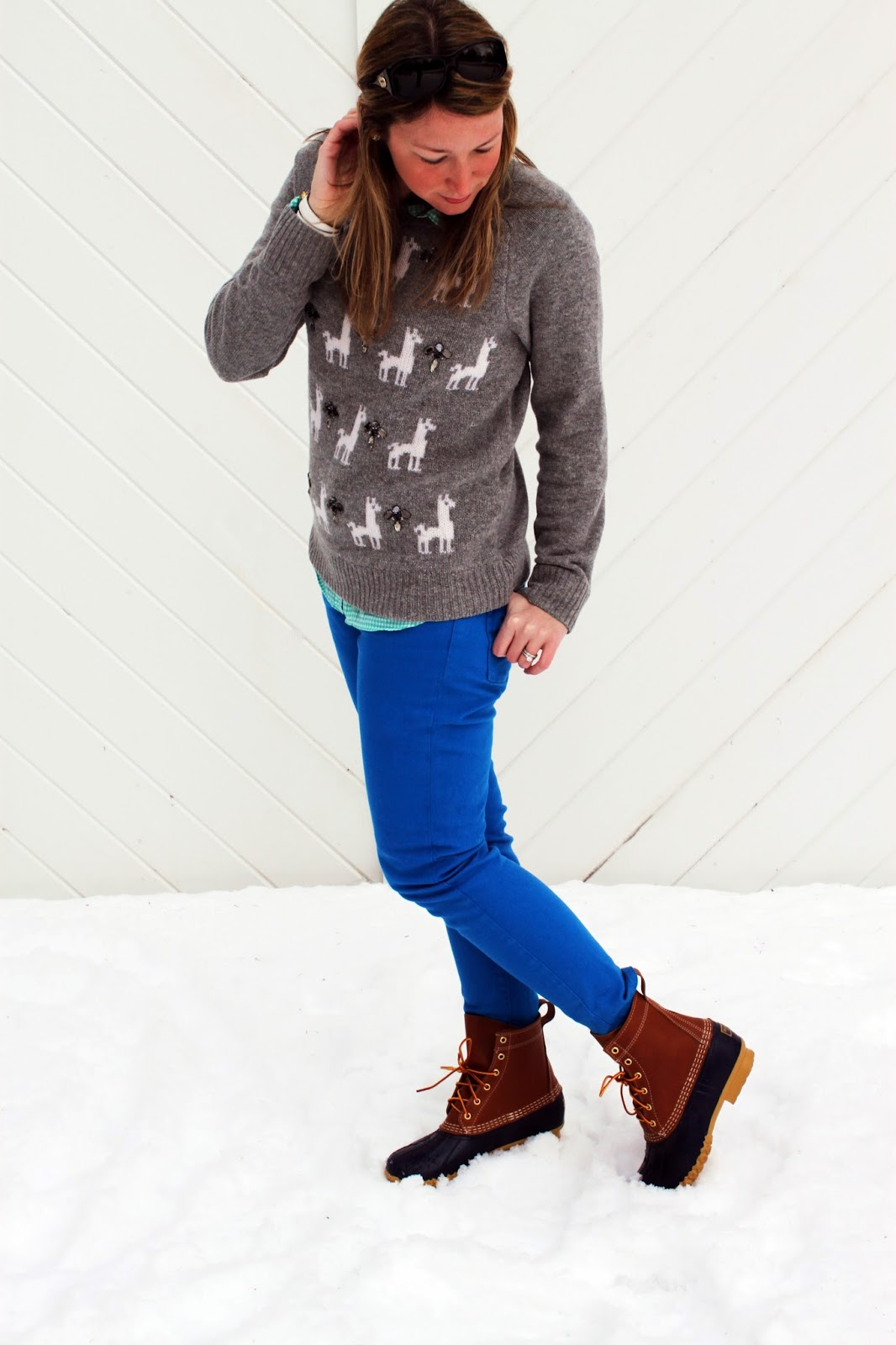 The Salty Hanger :: Llama Beans (L.L.Bean Boots and J.Crew)