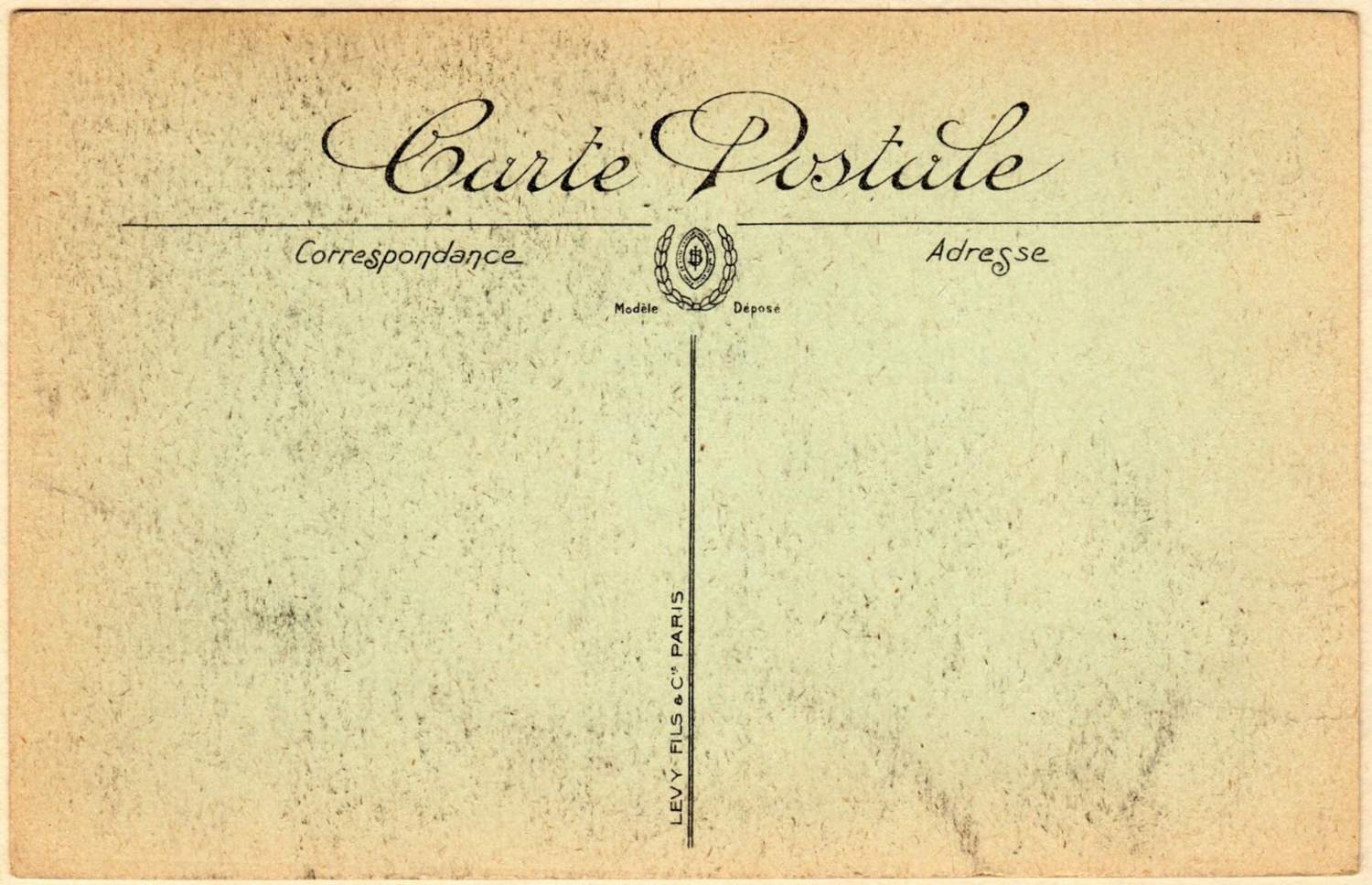 Vintage Postcard Template - Make your own postcard template